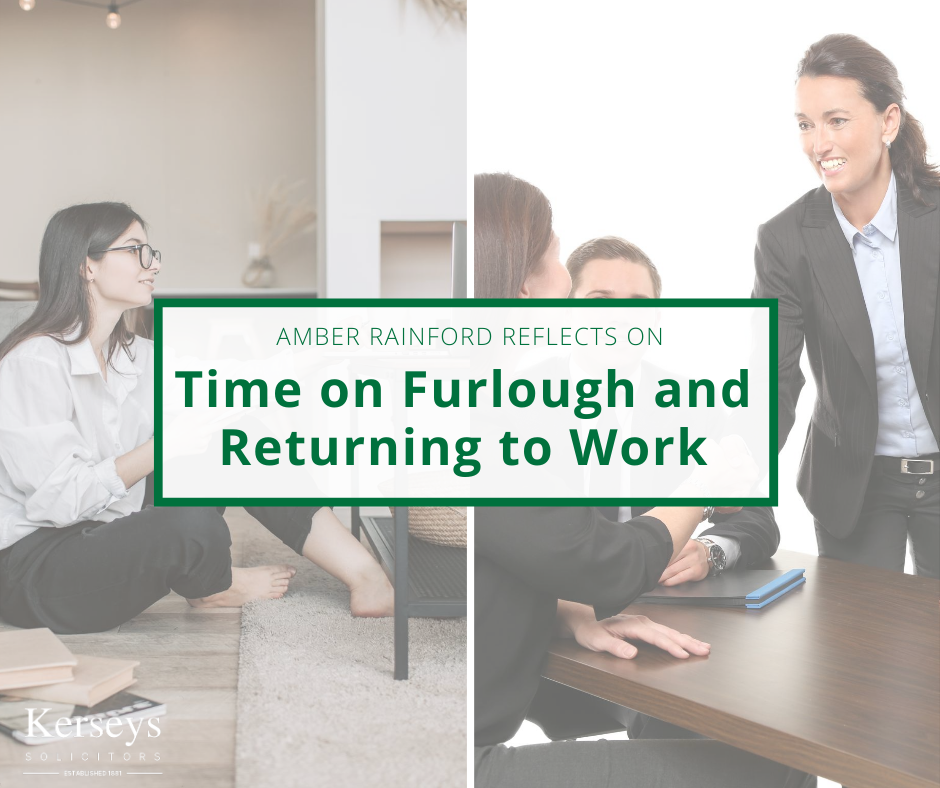Time on Furlough and Returning to Work Blog