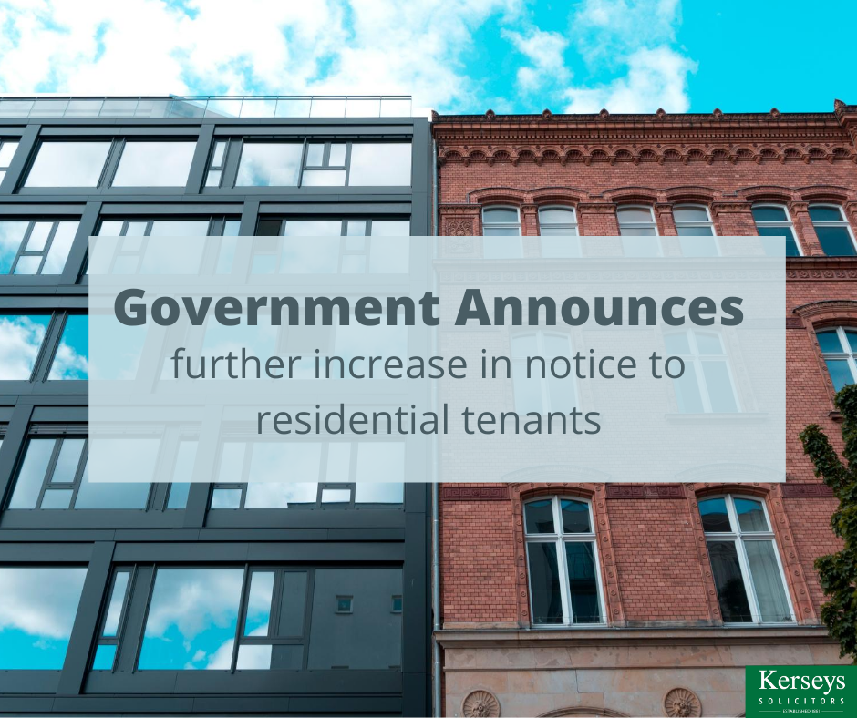 Government announces further increase