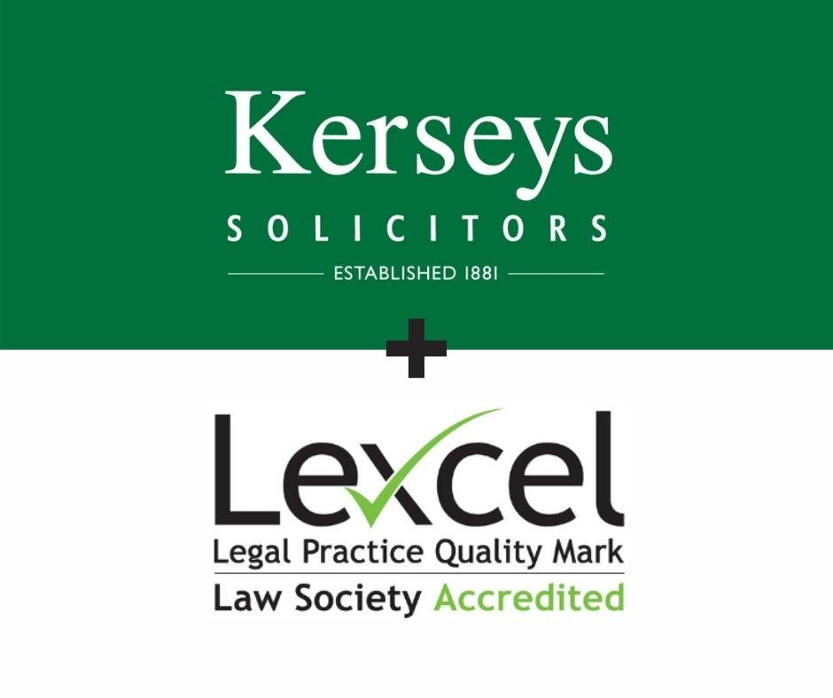 Kerseys Lexcel Accreditation