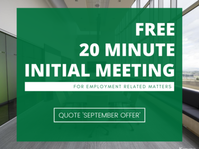 free 20 minute initial meeting