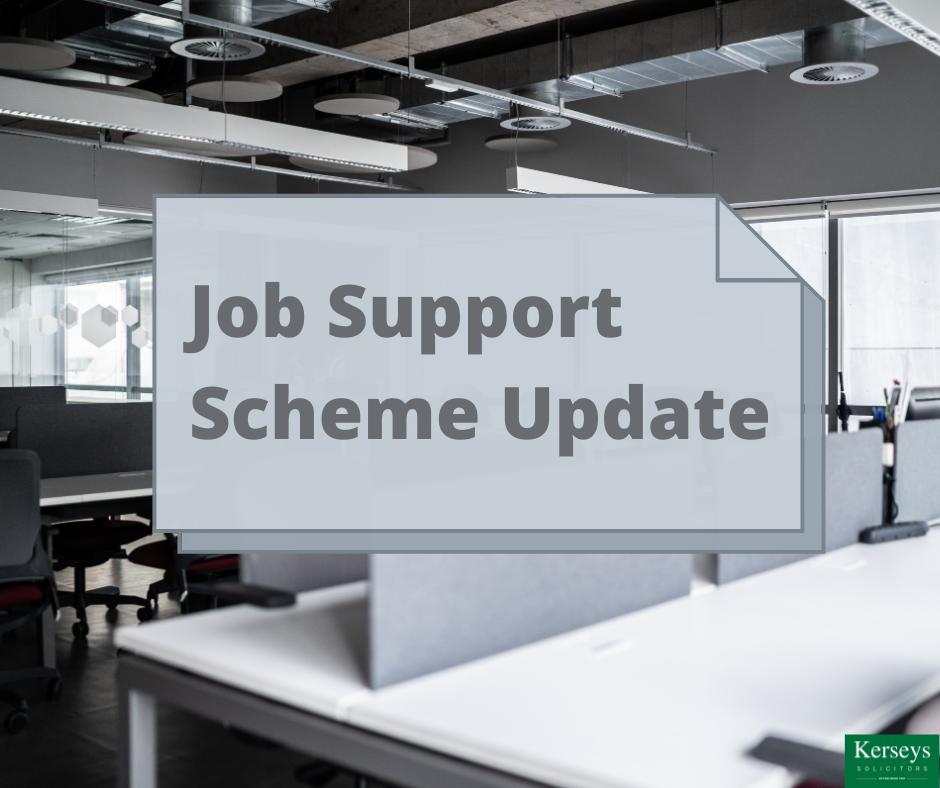 Job Support Scheme Update