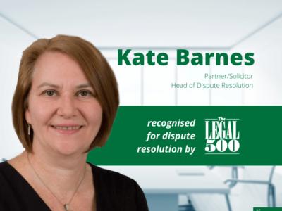 Kate Barnes Legal 500