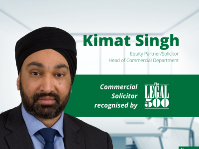 Kimat Singh Recognised in the Legal 500