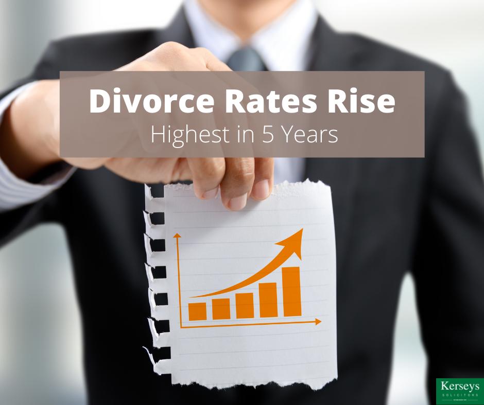 Divorce Rates Rise