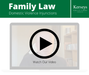 Domestic Violence Injunctions