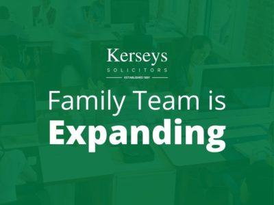 Family Team Expanding