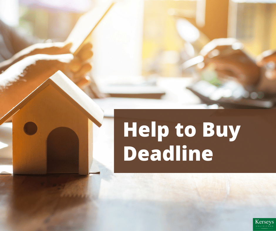 Help to Buy Deadline