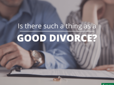 Is there such a thing as a good divorce