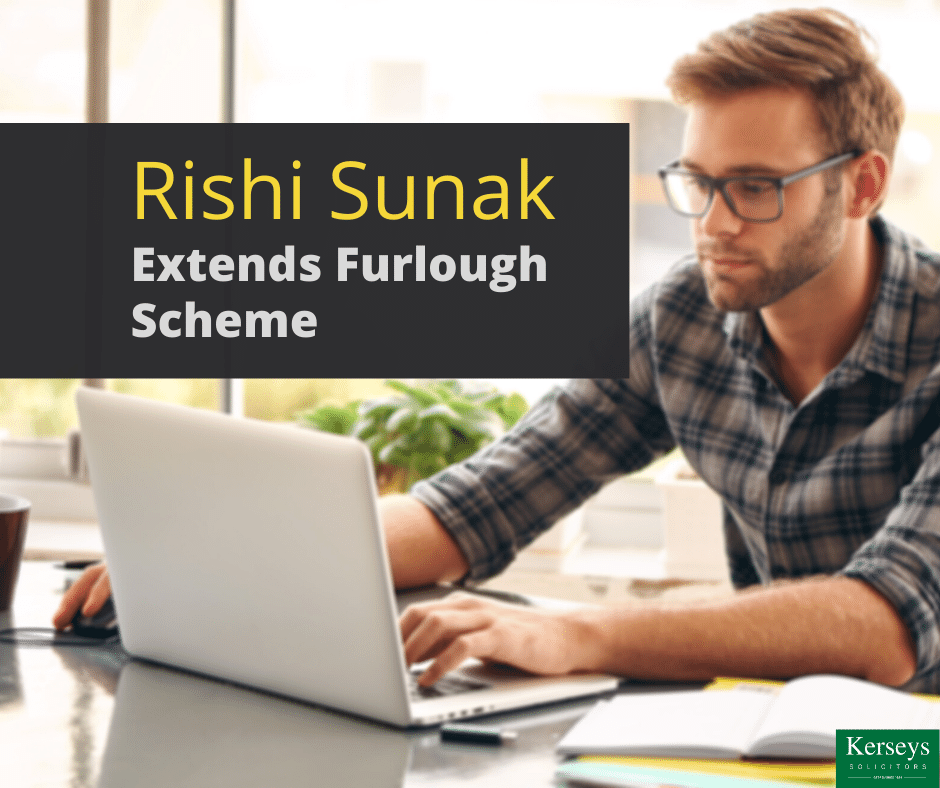 Rishi Sunak Extends Furlough Scheme