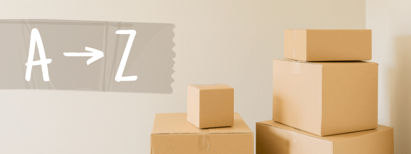 A-Z Home Moving Terms