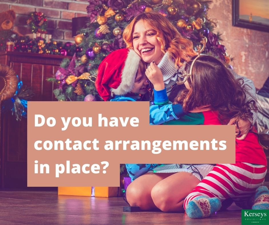 Do you have contact arrangements in place_