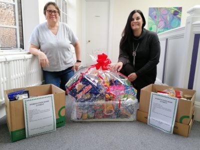Kerseys Helping Food Bank Charity