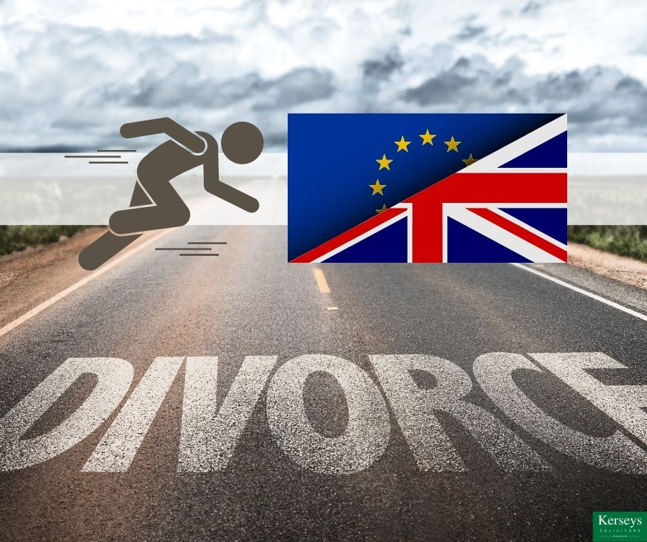 The Brexit Divorce Race is Finally Over