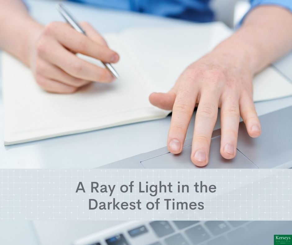 A Ray of Light in the Darkest of Times