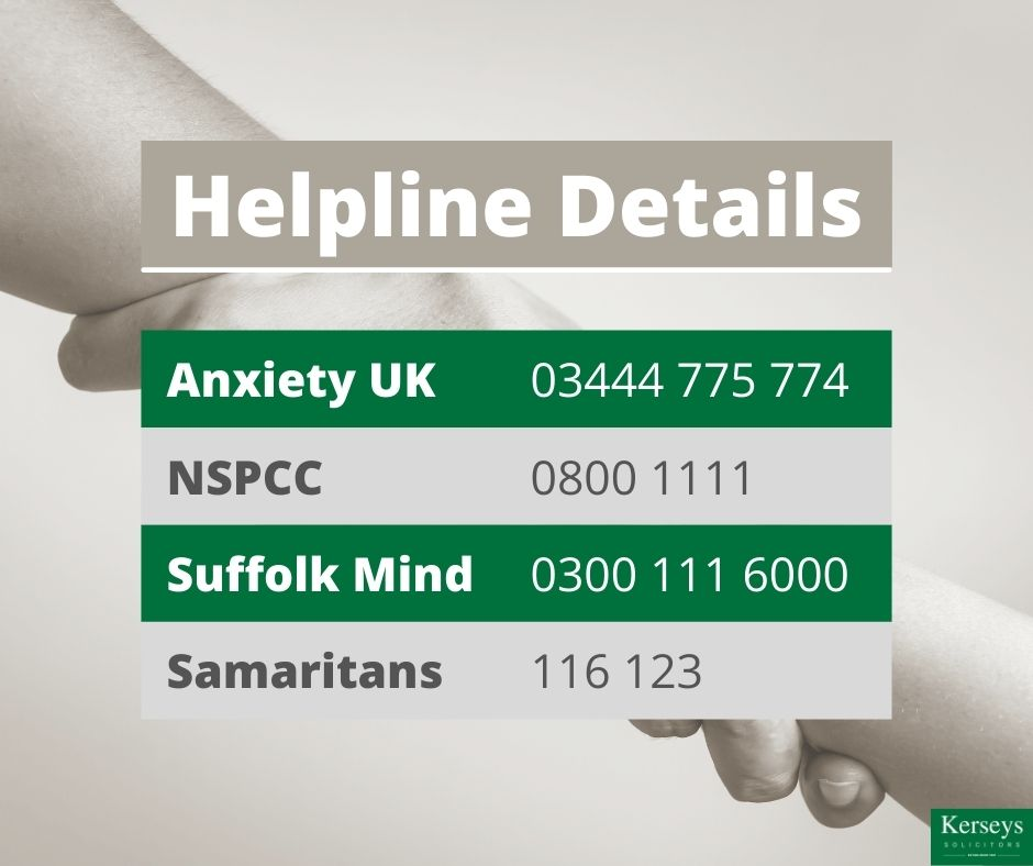 Helpline Information