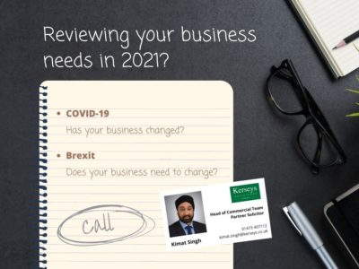 Reviewing your business needs in 2021