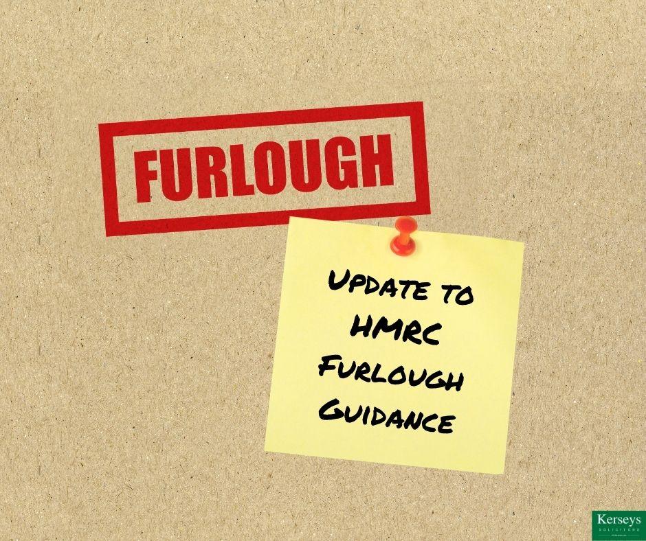 Update to HMRC Furlough Guidance