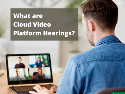 What are Cloud Video Platform Hearings