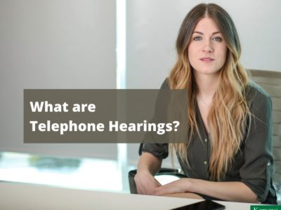 What are Telephone Hearings