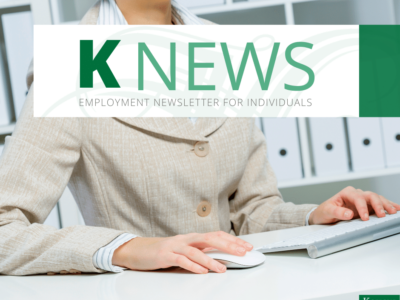 KNEWS - Employment Newsletter for Individuals