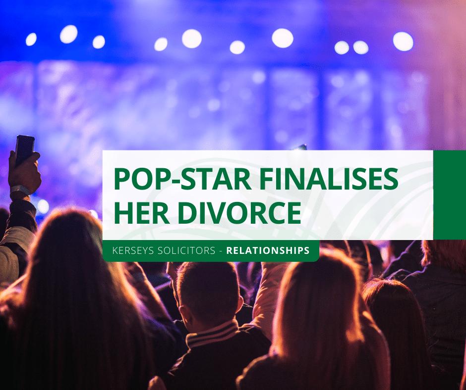 Pop-Star Finalises Her Divorce