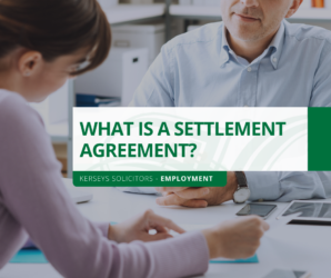 What is a Settlement Agreement