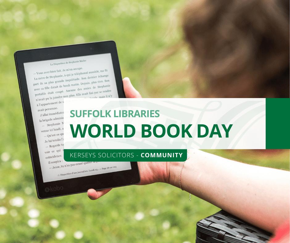 suffolk libraries world book day