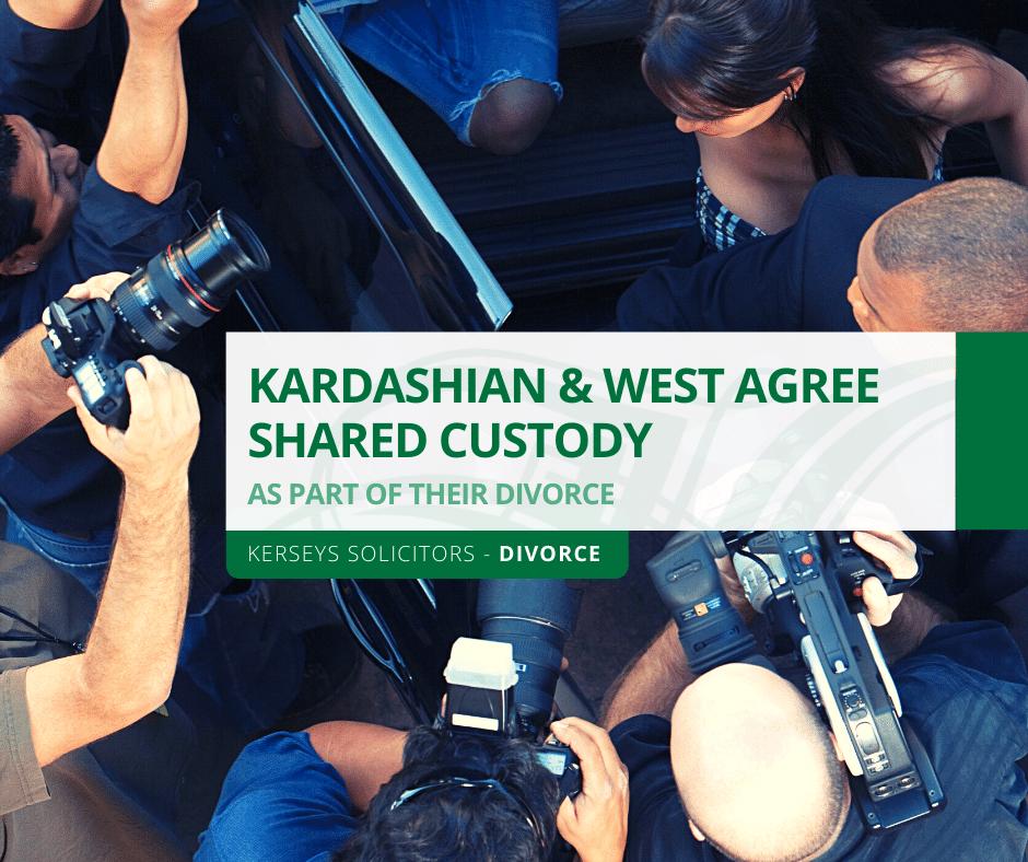 Kardashian & West Agree Shared Custody