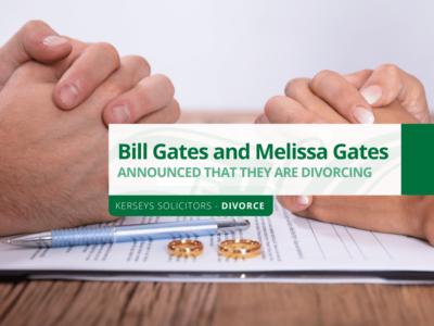 Bill Gates and Melissa Gates divorce
