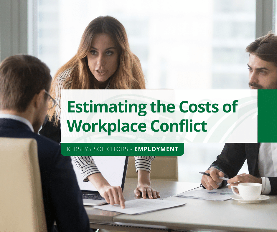 Estimating the Costs of Workplace Conflict