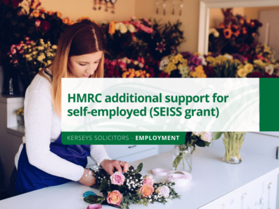 HMRC additional support for self-employed (SEISS grant)