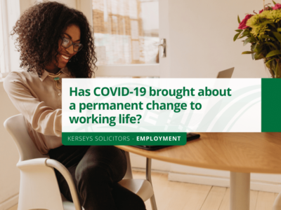 Has COVID-19 brought about a permanent change to working life?