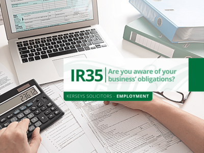 IR35 – Are you aware of your business' obligations?
