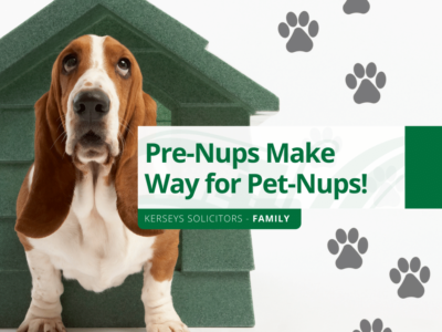 Pre-Nups Make Way for Pet-Nups!