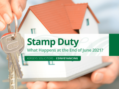 Stamp Duty – What Happens at the End of June 2021