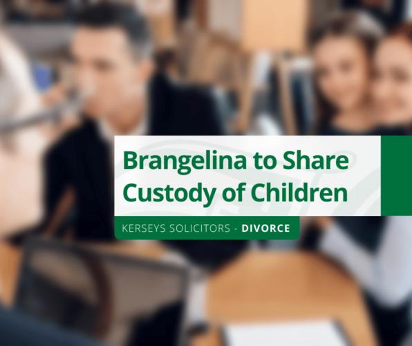 Brangelina to Share Custody of Children