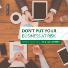 Don't Put Your Business at Risk