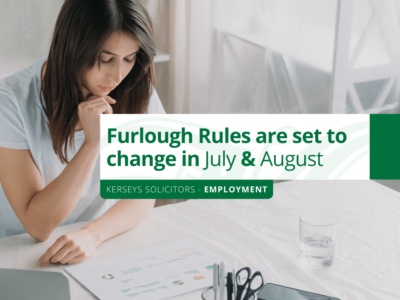 Furlough Rules are set to change in July and August
