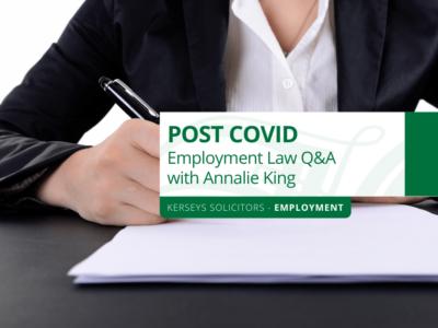 Post COVID Employment Q&A