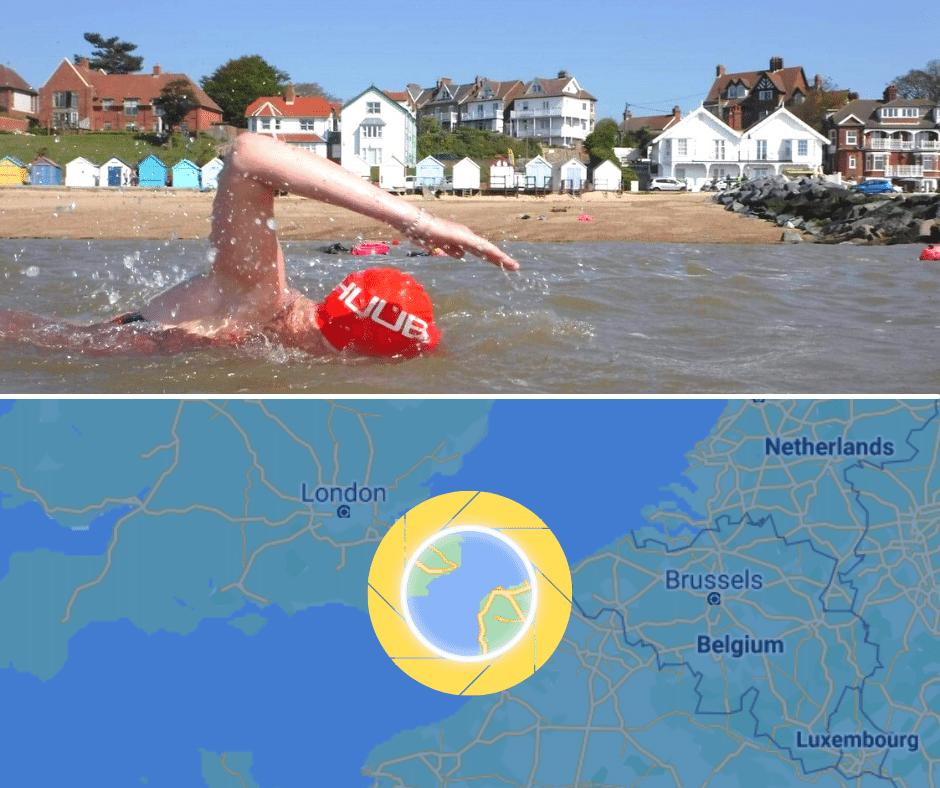 UK to France Swim 2