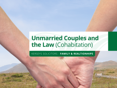 Unmarried Couples and the Law (Cohabitation)