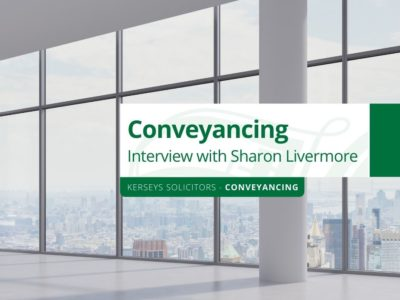 Conveyancing - Interview with Sharon Livermore