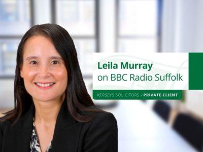 Leila Murray on BBC Radio Suffolk